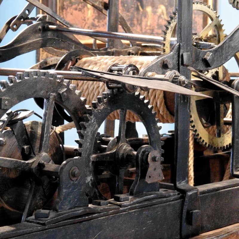 Meccanismo Torre Orologi Tolentino Macerata