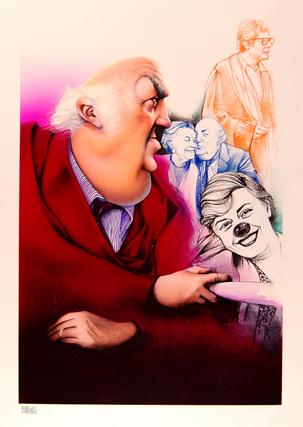 Sala Delle Caricature MIUMOR Tolentino