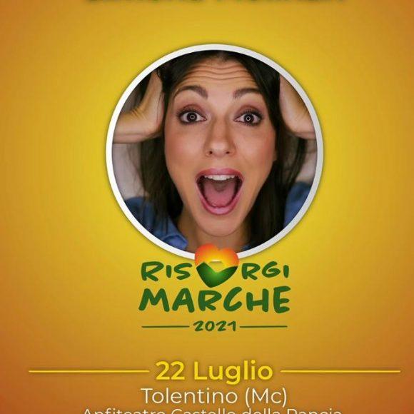 Simona Molinare – Risorgi Marche – 22 Luglio 2021 – Castello della Rancia