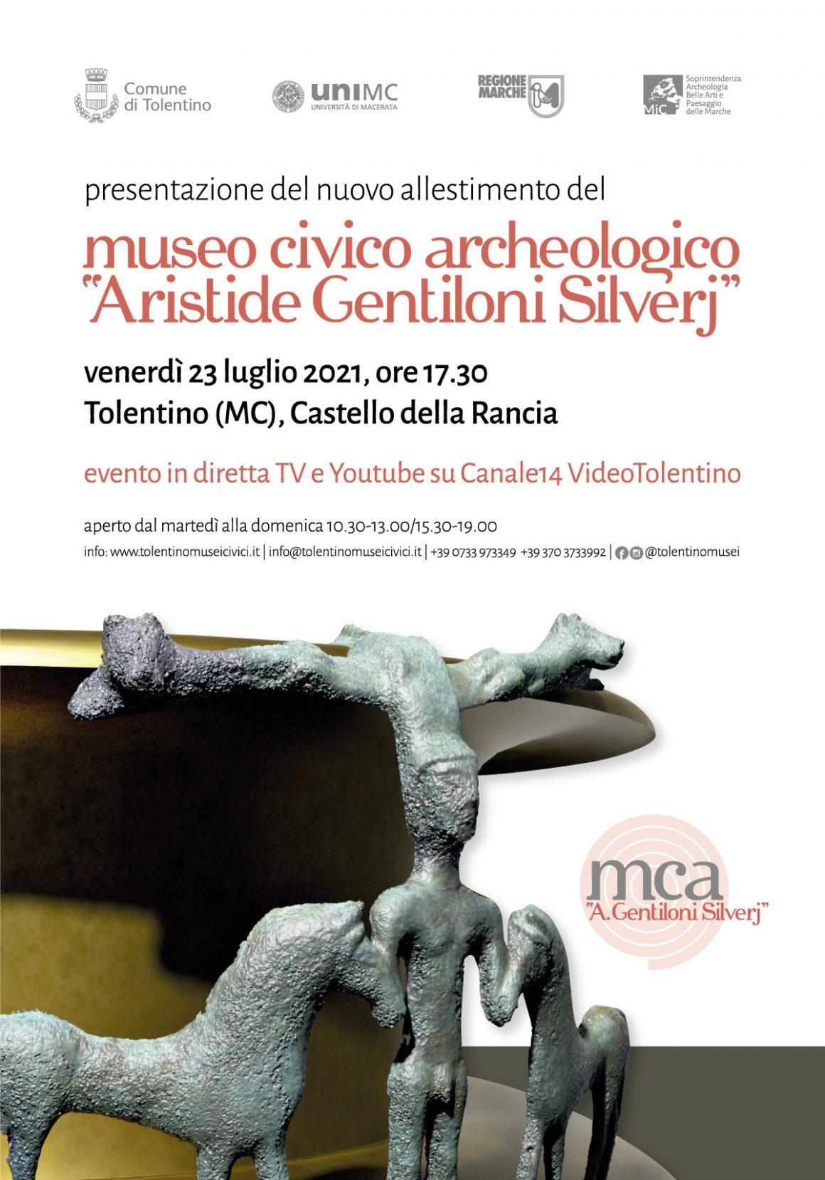 """Museo civico archeologico """"Aristide Gentiloni Silverj"""" – Presentazione nuovi allestimenti"""
